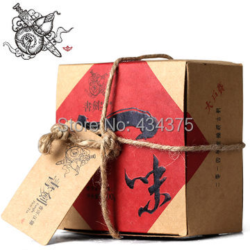 Pu er gift 2014 Brown blindly chapter house three teams expected in early spring tea 100g