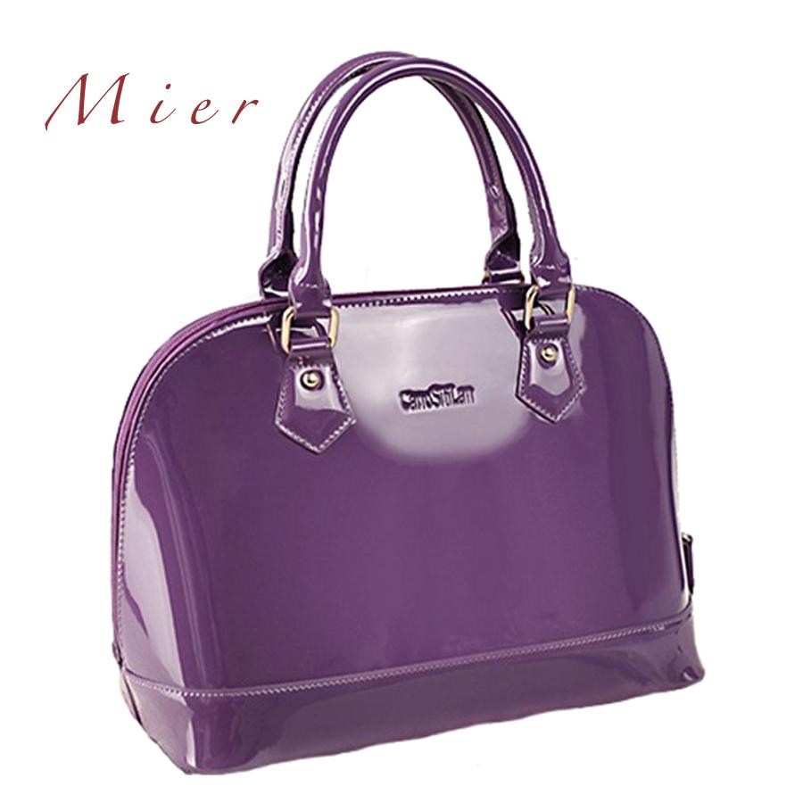 Women patent leather handbag ladies shell bag wedding handbag leather party bag<br><br>Aliexpress