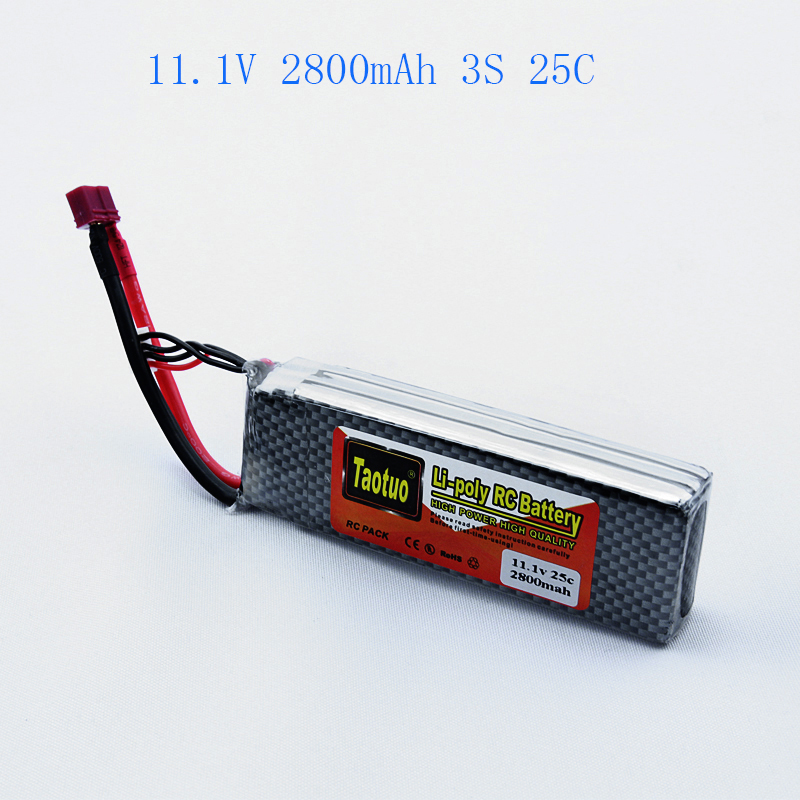 Lithium LiPo Battery 11.1V 2800 mAh 3S 25C For Rc Helicopter Quadcopter Drone Truck Boat Toy Hobby Parts Bateria Lipo Li-polymer<br><br>Aliexpress