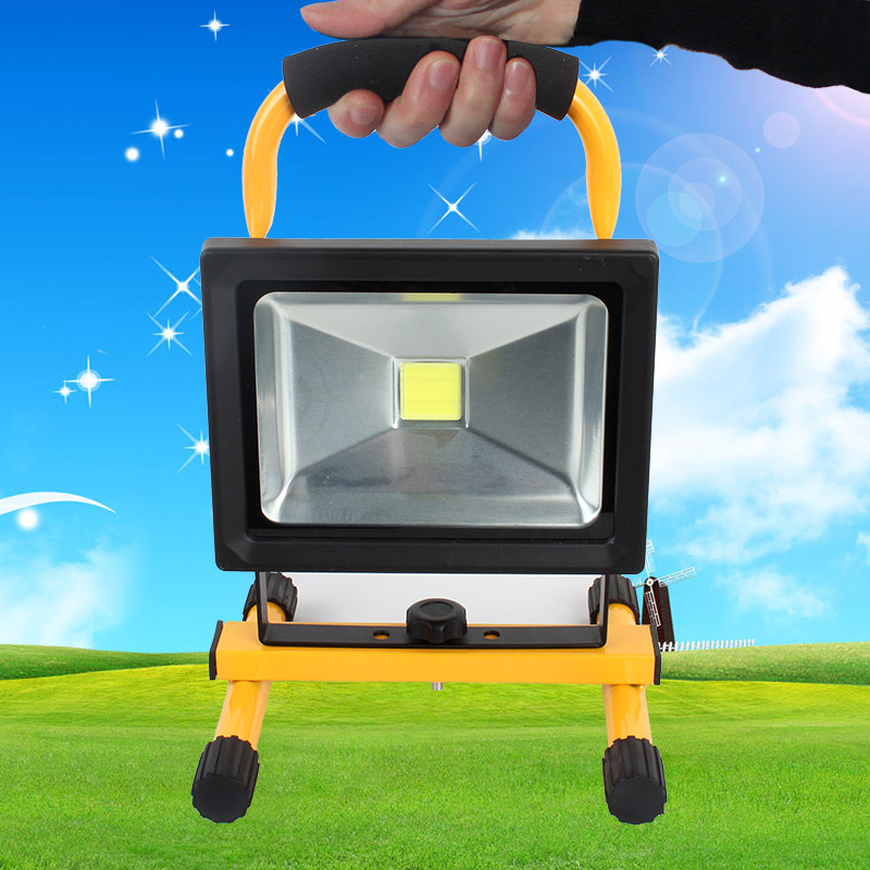 Free shipping20w Power Rechargeable Lantern Outdoor Lights Electric Field Strong Nocturnal Lighting(China (Mainland))