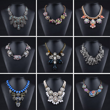 2015 Factory Stock Necklace Wholesale Statement Necklace High Quality Luxury Jewelry For Women