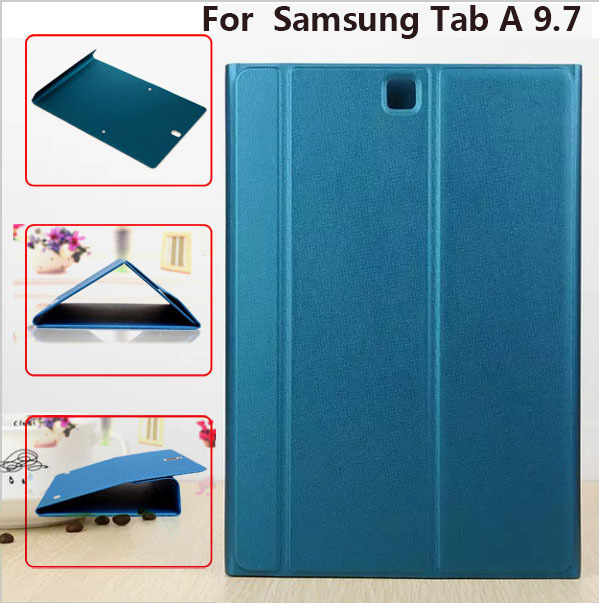 1: 1 Copy Original Smart Cover for Samsung Tab A T550 9.7 Official Stand Leather Case Magnet Case Cover + free Stylus Pen<br><br>Aliexpress