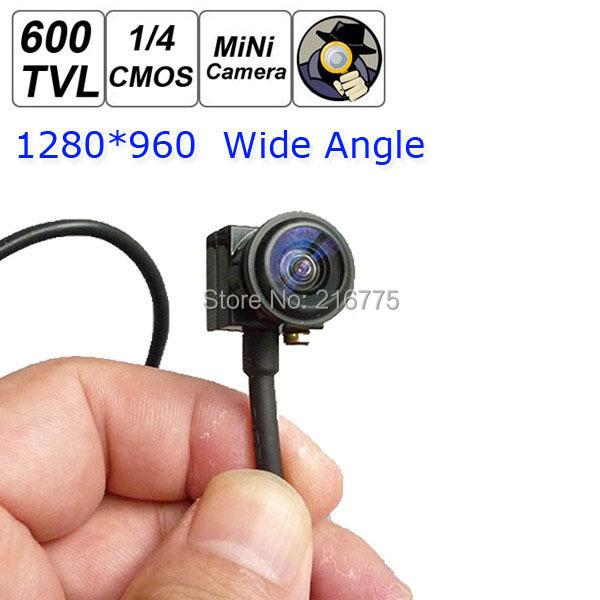 HD Mini CCTV Camera Video Security surveilance Micro 600TVL 1280 x 960 Smallest Cameras Wide Angle - Shenzhen Wincam Technology Co. Ltd. store