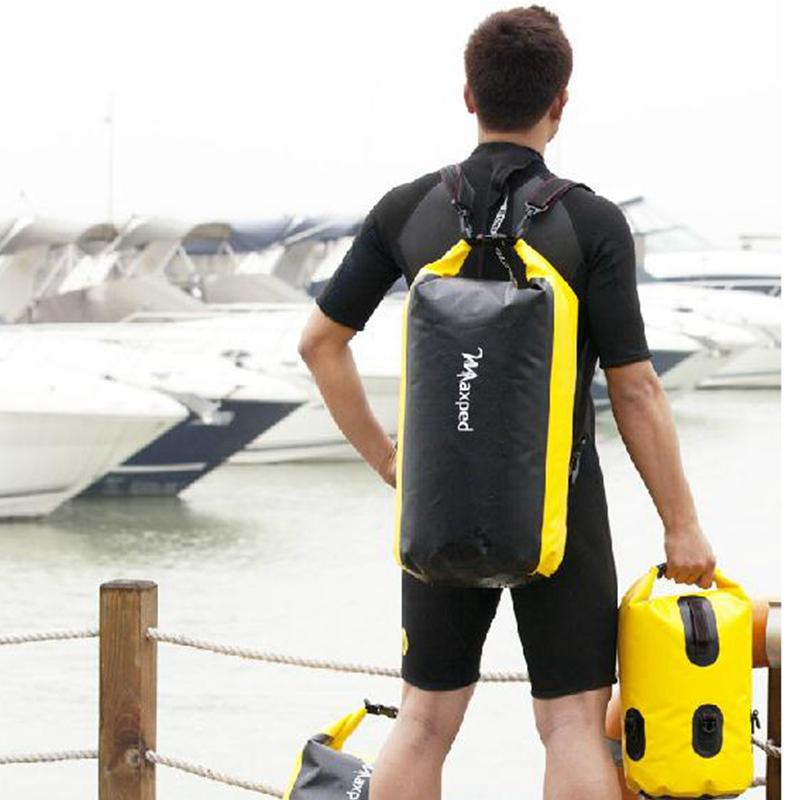 Thickened Maxped PVC Drifting Bag Waterproof Dry Bag Backpack Canoe Kayak Rafting Floating Storage Bags Folding Travel Kits(China (Mainland))