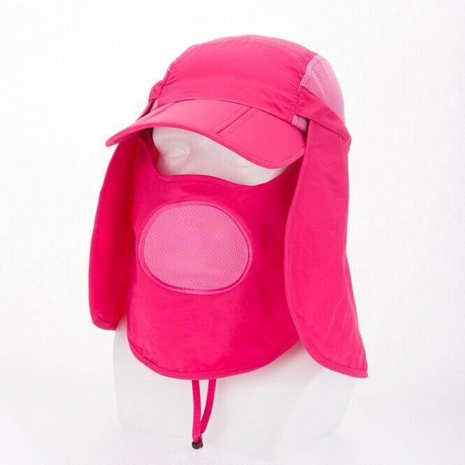 2015 Summer Casual Men Women Outdoor Sun Hat Breathable Anti-UV Antistatic Bucket Hat Multi Color Multifunction Visor Hat(China (Mainland))