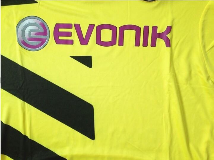 2015 BVB 14/15 camisa Borussia Dortmund Jerseys