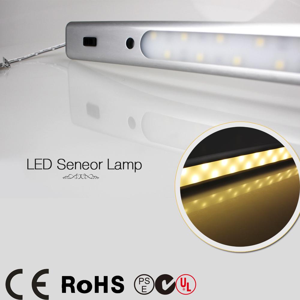 motion sensor lamp closet kitchen led under cabinet light night light. Black Bedroom Furniture Sets. Home Design Ideas