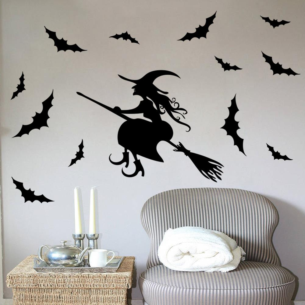 Halloween Wall Decoration Ideas : Aliexpress buy cartoon halloween party decorations