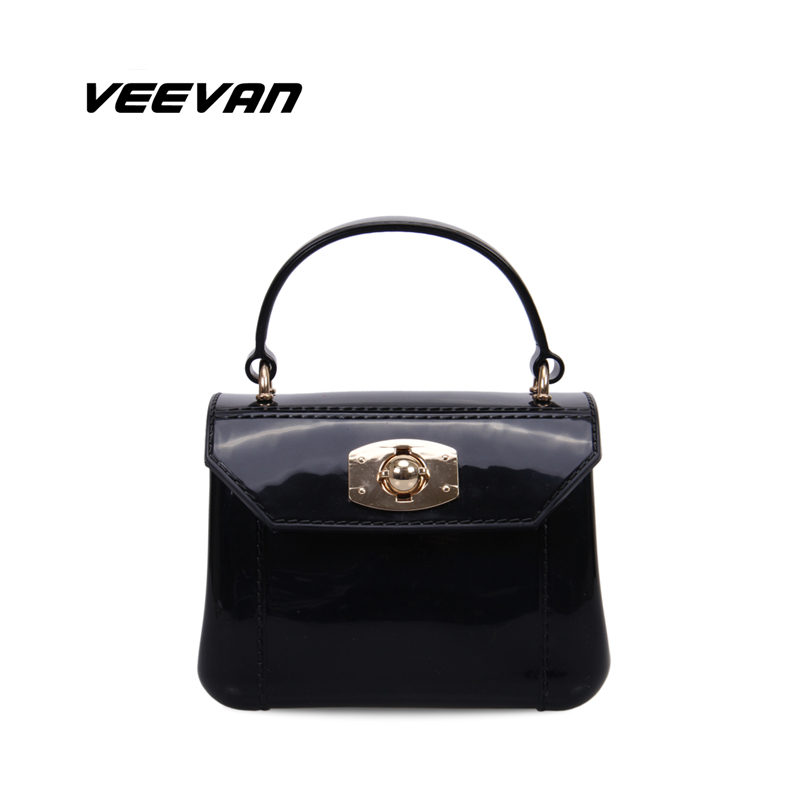 VN 2016 NEW women handbag summer candy color bag jelly mini women tote bag small shoulder bags female crossbody bags for women(China (Mainland))