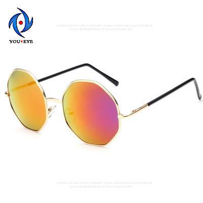 Fashion Rhombus Frame Sunglasses Women Sunglasses Desinger Reflective Sun glasses Colorful Goggles oculos de sol feminino 2015(China (Mainland))