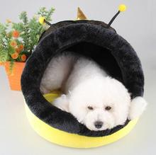 NEW Pet dog kennel winter warm small dogs nest mat wasp shape cat beds dog house