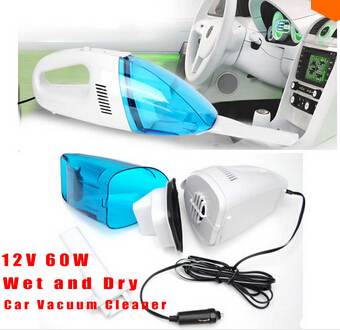 2015 Auto New version 60W Mini 12V High-Power Auto Wet and Dry Portable Handheld Hoover Car Vacuum Cleaner Dust Collector(China (Mainland))