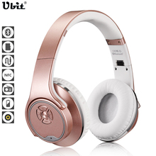 Ubit MH1 NFC 2in1 Twist-out Speaker Bluetooth Headphone With FM Radio /AUX/TF Card MP3 Sports Magic Headband Wireless Headset(China (Mainland))