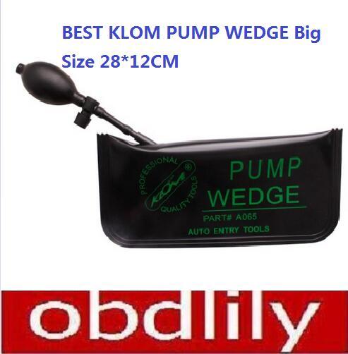 2016 Professional KLOM PUMP WEDGE use for Car Repair Tool KLOM Lock Pick Car Door Maintenance Tools Big Size 28*12CM(China (Mainland))