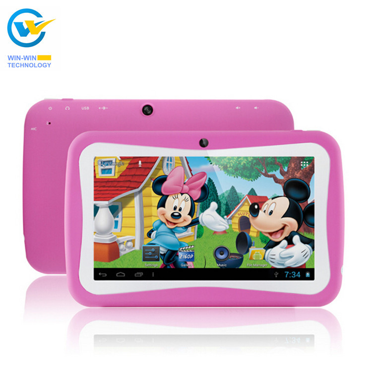 NEW cute Kids tablet 7inch Quad Core RK3126 Android 5.1 ...
