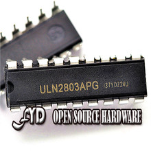10pcs/bag ULN2803 / ULN2803APG transisto ar Darlingtonr ray 500mA x8 DIP-18 - FYD Open Source Hardware store