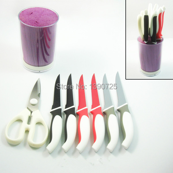 Buy Free Shipping 2016 Hot-selling Color Plastic Knife Holder cheap