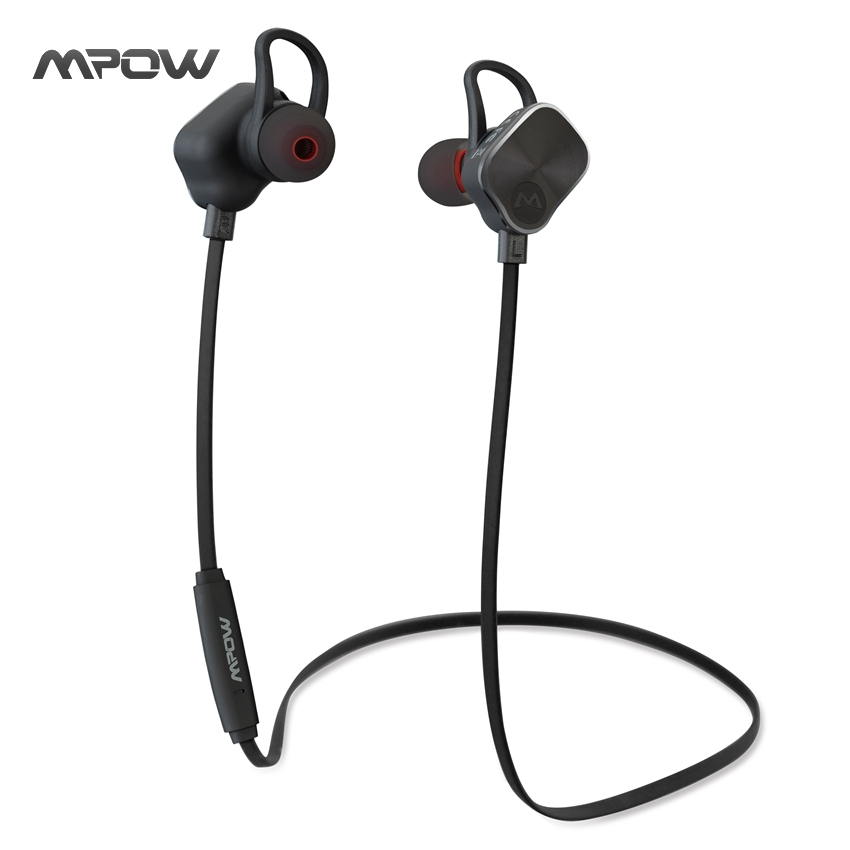 MBH26 Mpow Magnetic Earphone Bluetooth 4.1 Headset Wireless Headphone Sport Headphones Mic Microphone for iPhone Android Xiaomi(China (Mainland))