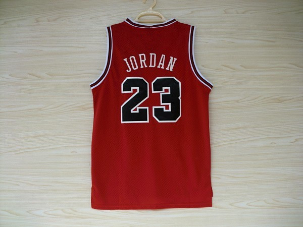 #23 Michael Jordan white red black stripes red retro throwback vintage bullets jersey all star jersey S-XXL Basketball jersey(China (Mainland))