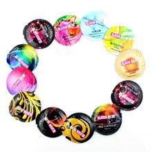 ELASUN 50 Шт. Высококачественные ультратонкие Презервативы для Мужчин Смазкой Мужские презерватив 8 видов Вкус Секс-Игрушки для Мужчин и пары