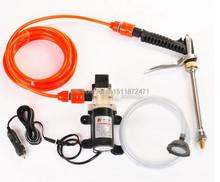 Electric car wash device portable high pressure car wash water gun 45w pump Car Clean Tool Free Shipping Brand New D-577(China (Mainland))