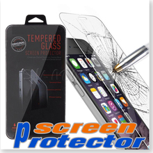 50PCS NEW Arrival For iphone 6S/6 4.7″ Tempered Glass screen protector clear 0.26MM/2.5D Clear Explosion Proof With Retail Box