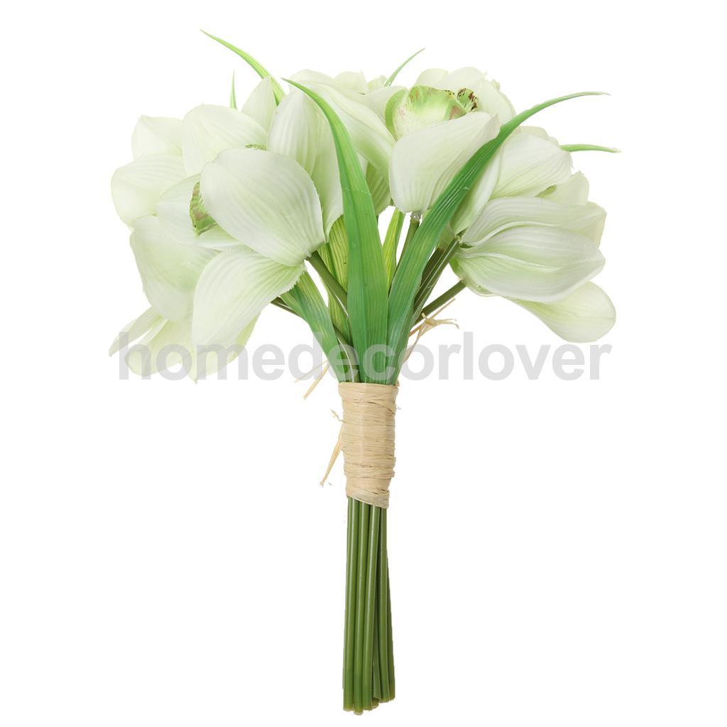 Kunstmatige orchidee bruidsboeketten koop goedkope kunstmatige ...