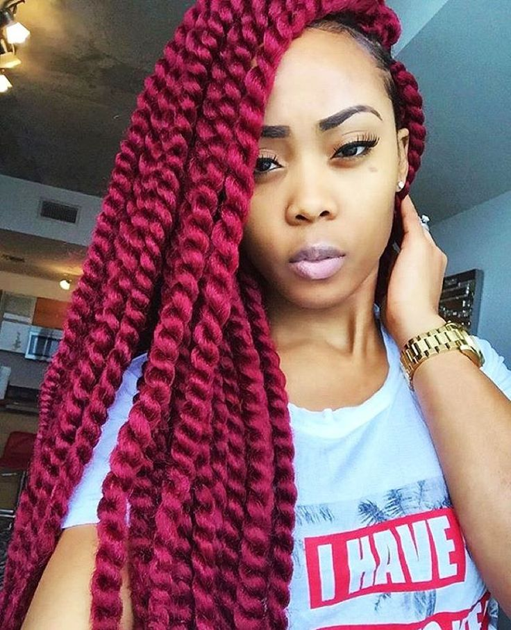 Synthetic Hair Crochet Braids 2X Jumbo Twist 24 (Havana Mambo Twist ...