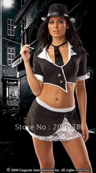 Гаджет  88502 free shipping wholesale sexy school girl costumes,fascinated school girl uniform,sexy club wear with bow tie None Изготовление под заказ