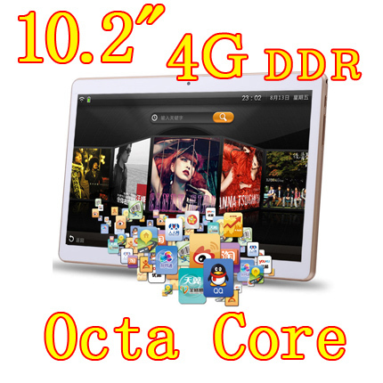 10 2 inch 8 core Octa Cores 1280X800 IPS DDR 4GB ram 32GB 8 0MP 3G
