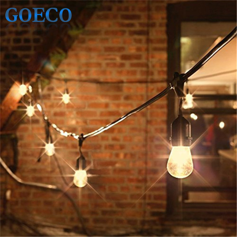 Outdoor String Lights Incandescent : Aliexpress.com : Buy New! 48Ft(14.8M) Outdoor Vintage String Light with 15 Incandescent 5W E27 ...