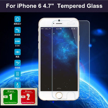 For Apple iPhone 6 Tempered Glass Screen Protector For iPhone 6 Screen Protector glass for iphone 6 Toughened protective Film4.7