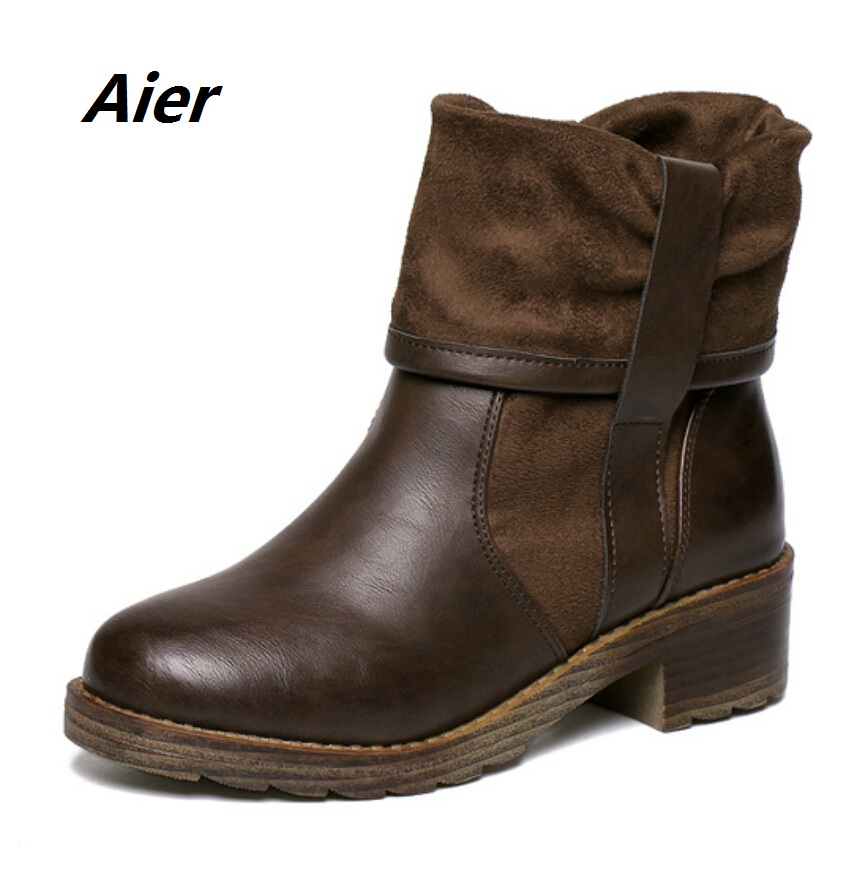 Amazing  Boots For Women Shoes Winter Heels Bootsin Ankle Boots From Shoes On