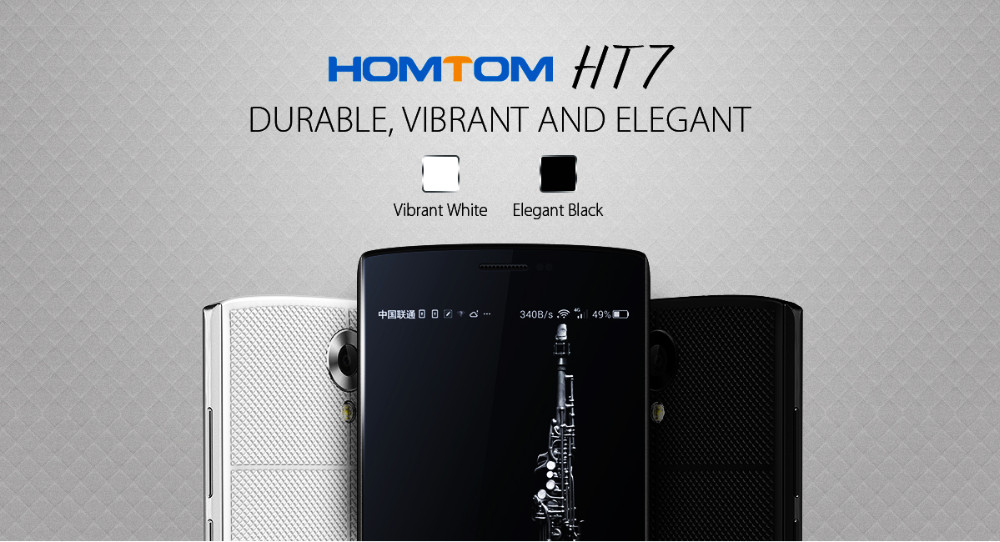 HOMTOM HT7 Android 5.1 MTK6580A Quad Core Smartphone 1G RAM 8G ROM HD 1280x720 Mobile Phone 5.5 Inch 8.0MP Cell Phone