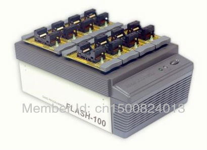 100% GUNUINE DEVICE, FLASH-100 Gang Programmer,A multi-site high SPEED FLASH IC programmer(China (Mainland))