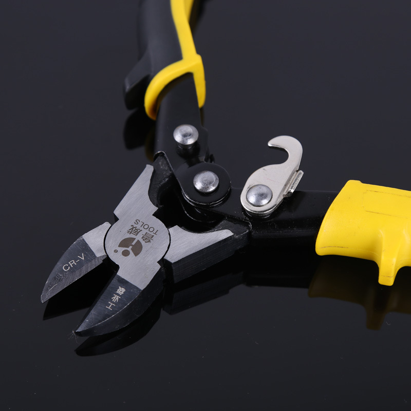 vanadium steel wire clamp pliers bevel manual stripping two diagonal cutting plier diagonal pliers(China (Mainland))