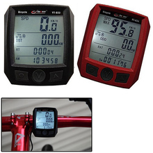 Multifunctional BoGeer YT-833 Bike Computer Bicycle Cycling Speedometer Odometer Imported Sensors LCD Backlit(China (Mainland))