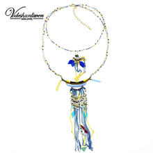 Buy Vodeshanliwen ZA Brand Tassel Chokers Necklaces Unique Hand Collar Statement Necklace Fashion Woman Necklaces & Pendants for $8.23 in AliExpress store