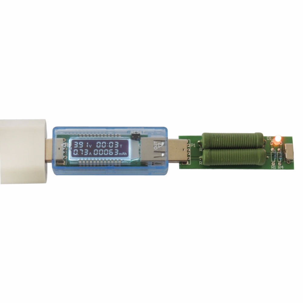 Digital Display USB Charger Doctor Capacity Current Voltage Detector Meter Battery Tester(China (Mainland))