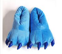 Мужские тапочки conjuntos trajes dos desenhos animados sapatos chinelos kigurumi pata casa sapatos inverno quente