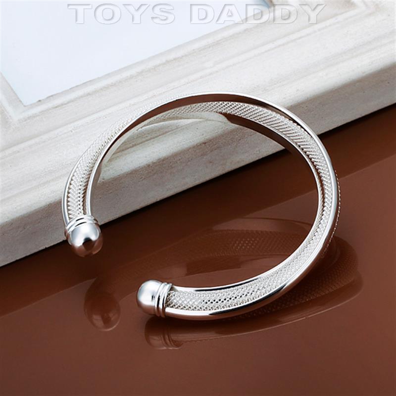 Aliexpress.com : Buy Top Quality Net silver gold Love bracelets ...