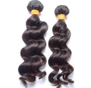 Top Grade Cuticle Hair Extension Loose Wave Remy Hair 100g 18-30inch #4 Dark Brown Hair Weave