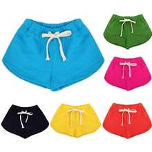 Wholesale Kids Board Shorts Cotton Candy Color High-end  Boys Surf Shorts Girls Beach Wear Unisex Summer Swimming Boardshorts