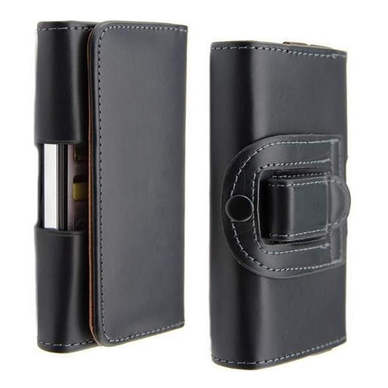 Belt Clip Holster PU Leather Mobile Phone Cases Pouch Smartphone For hero h2000 Cell Phone Cover(China (Mainland))
