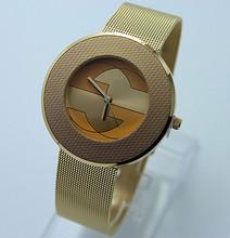 Completo acero relojes mujeres vestido Rhinestone analógico reloj relojes de pulsera 2015 relojes Ladies Unisex cuarzo reloj de pulsera cristal