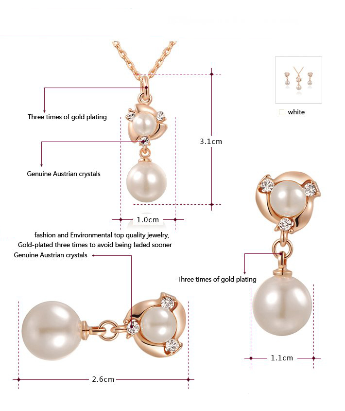 Aliexpress.com : Buy Hot Sell Top Quality Three Drill Pearls ...