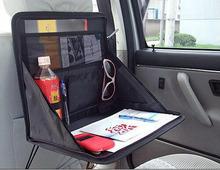 Free Shipping computer support Car Boot Organiser storage Bag Auto storage Box Multi - use the Tools organizer(China (Mainland))