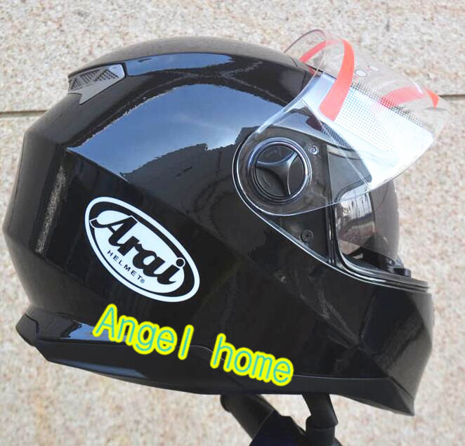 angel home new arrive Cross country helmet double lens Motorcycle helmet Full face keep warm take off lining arai R(China (Mainland))
