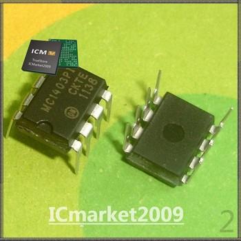 100 PCS MC1403PI DIP-8 MC1403 Low Voltage Reference
