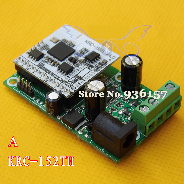 Аудио усилитель OEM 2015 Bluetooth 4.0 2 * 15 w D Bluetooth KRC-152TH A